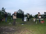 Beobachtung des Venustransits am 6. Juni 2012 auf dem Frauenberg