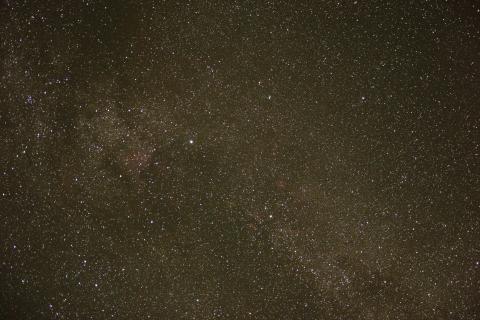 Blick in das Zentrum unserer Milchstraße